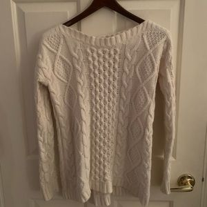 NWOT White Madewell Sweater